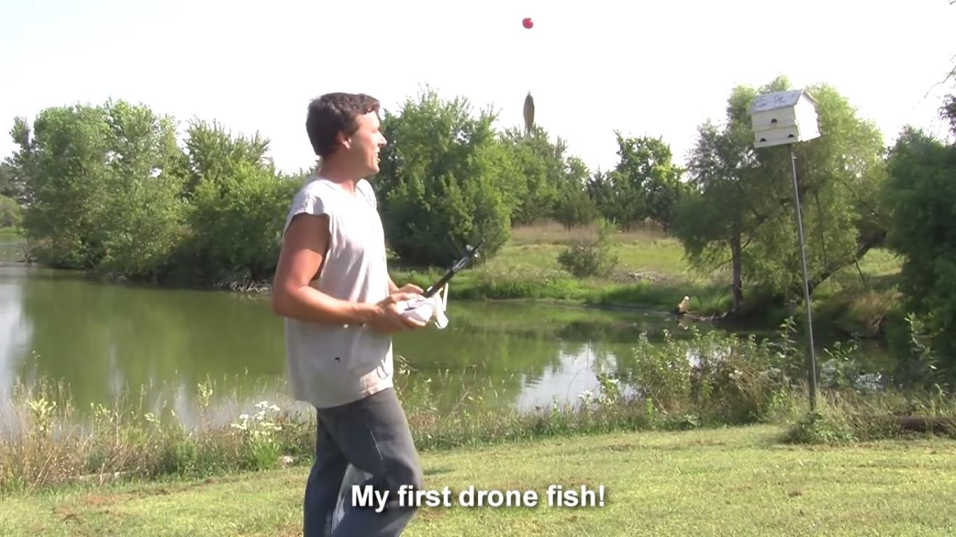 Photo of VIDEO DNE: Jak ulovit rybu pomocí dronu?