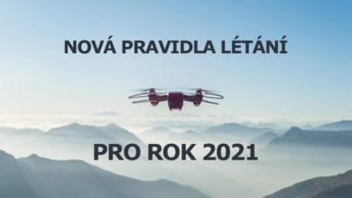 Photo of V ČR a celé EU začnou platit nová pravidla pro provoz dronů